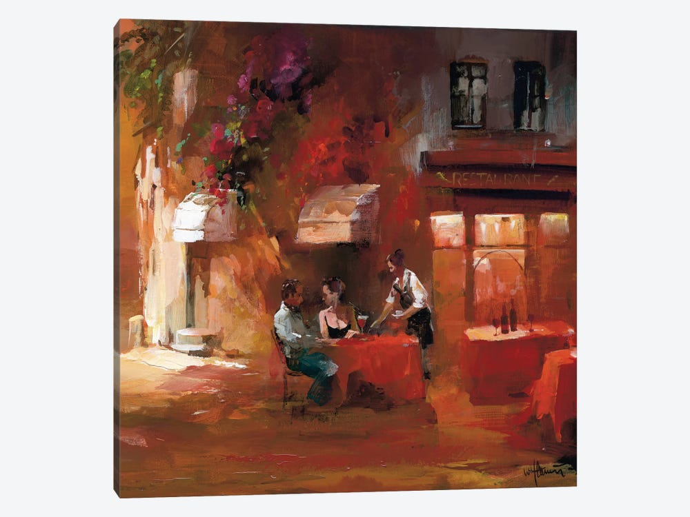 Dinner For Two III by Willem Haenraets 1-piece Art Print