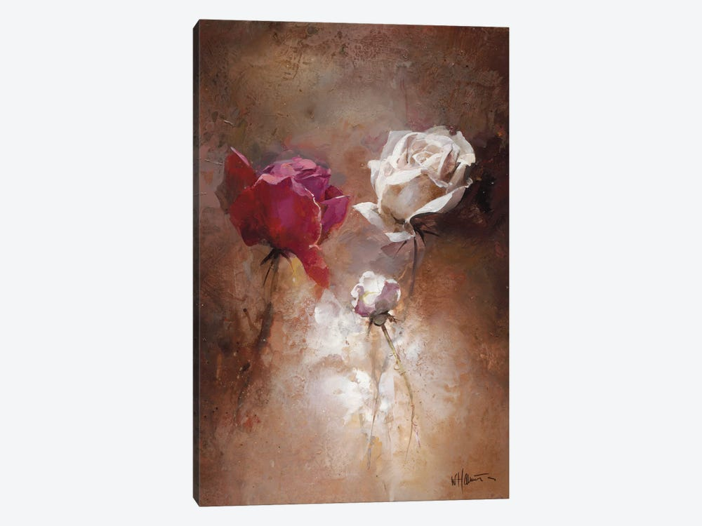 A Couple II by Willem Haenraets 1-piece Canvas Artwork