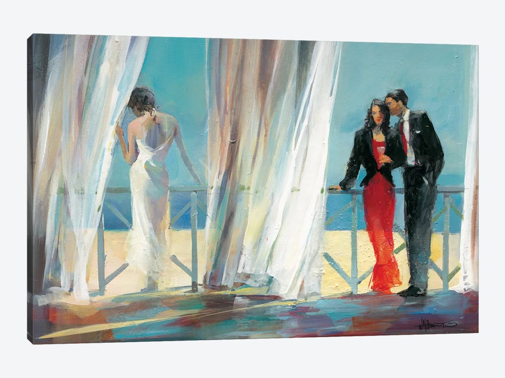 Dreaming About I by Willem Haenraets 1-piece Canvas Wall Art
