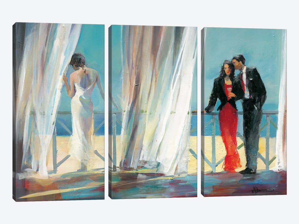 Dreaming About I by Willem Haenraets 3-piece Canvas Art