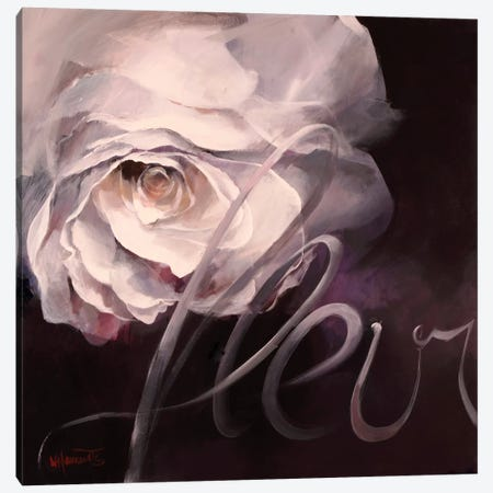 Fleur I Canvas Print #HAE36} by Willem Haenraets Canvas Artwork