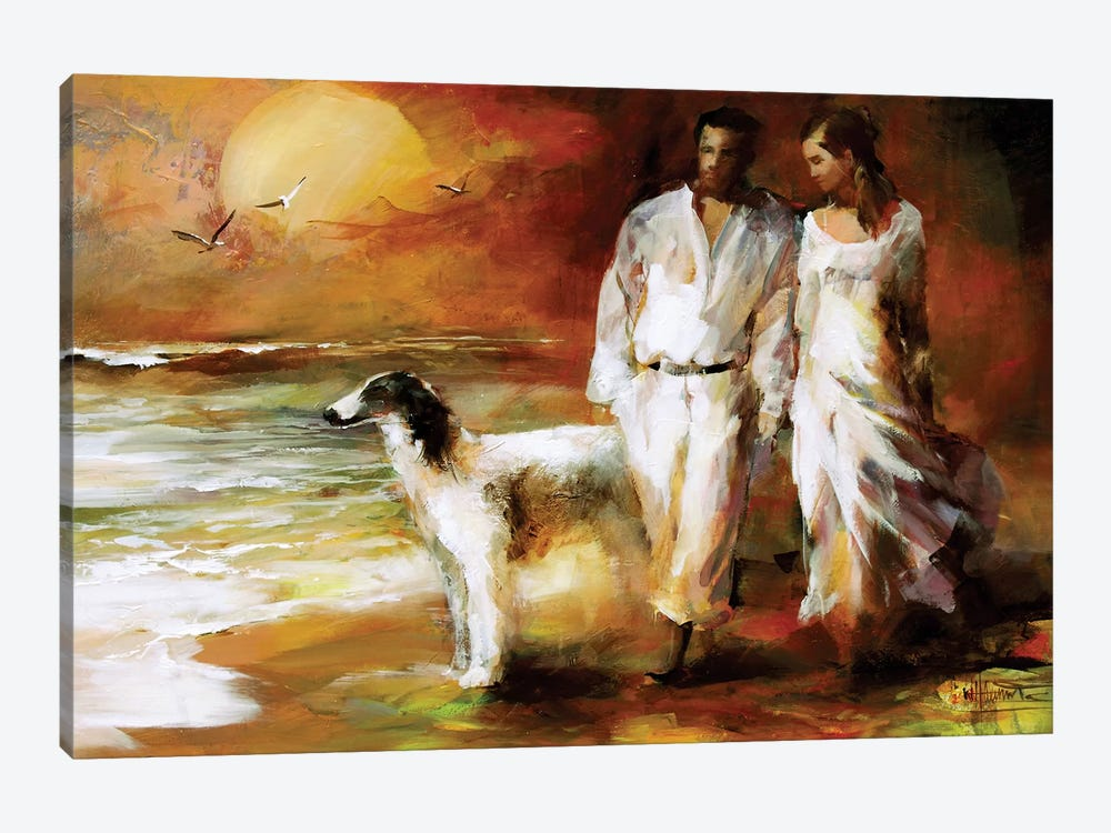 Go For A Walk by Willem Haenraets 1-piece Canvas Print