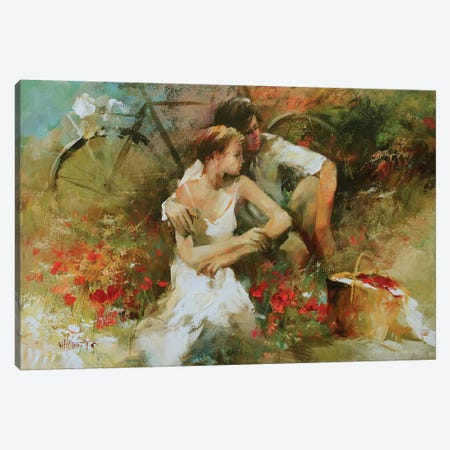 In Love Canvas Print #HAE40} by Willem Haenraets Canvas Wall Art