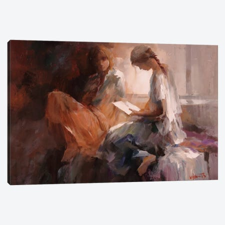 Love Letter Canvas Print #HAE42} by Willem Haenraets Canvas Art