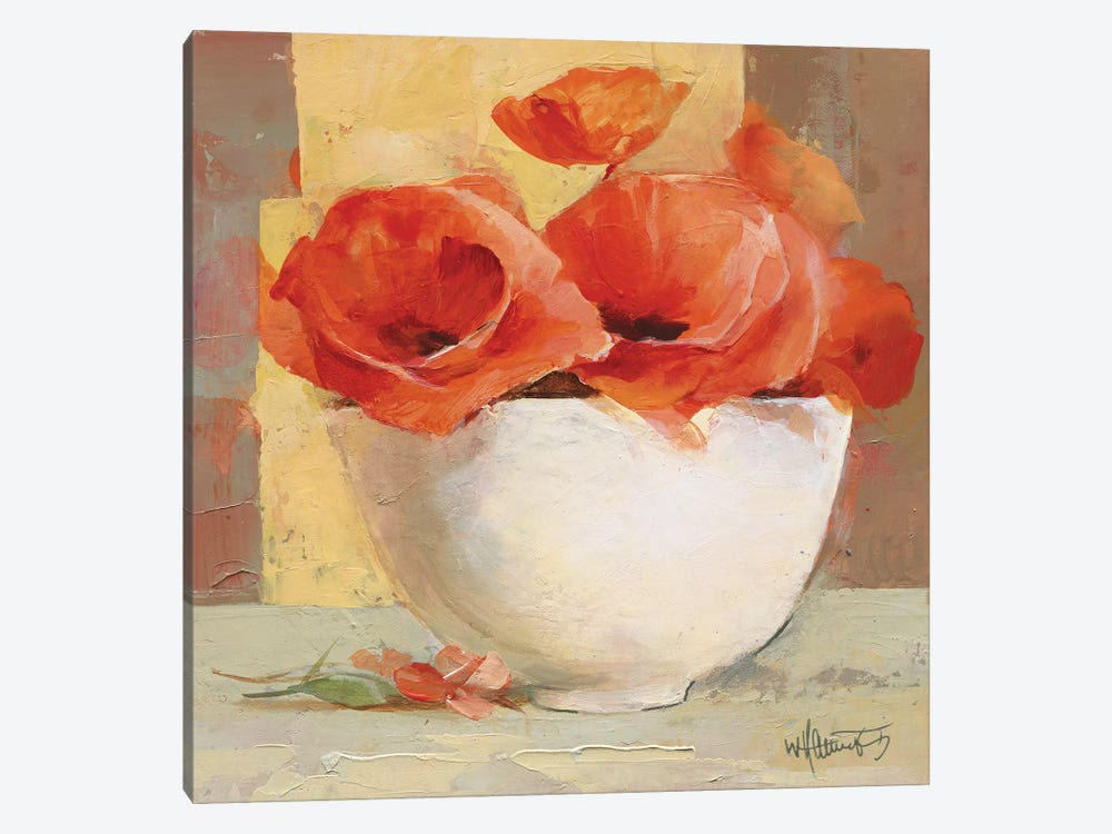 Lovely Poppies I by Willem Haenraets 1-piece Art Print