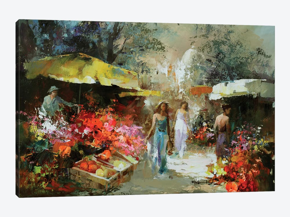 Marketplace I by Willem Haenraets 1-piece Art Print