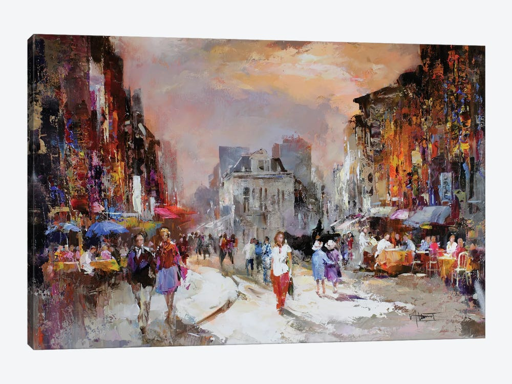Market Square by Willem Haenraets 1-piece Art Print