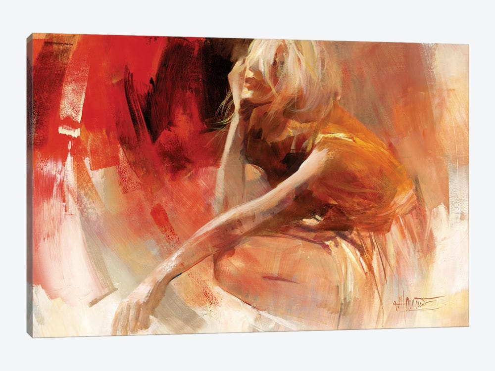 Playful III by Willem Haenraets 1-piece Canvas Artwork