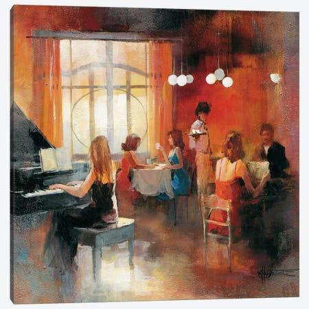 Rendez-Vous I Canvas Print #HAE55} by Willem Haenraets Canvas Art