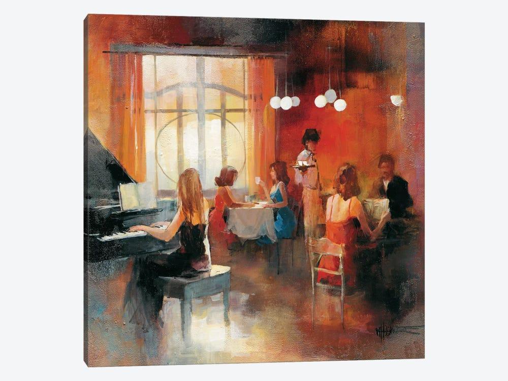 Rendez-Vous I by Willem Haenraets 1-piece Canvas Artwork