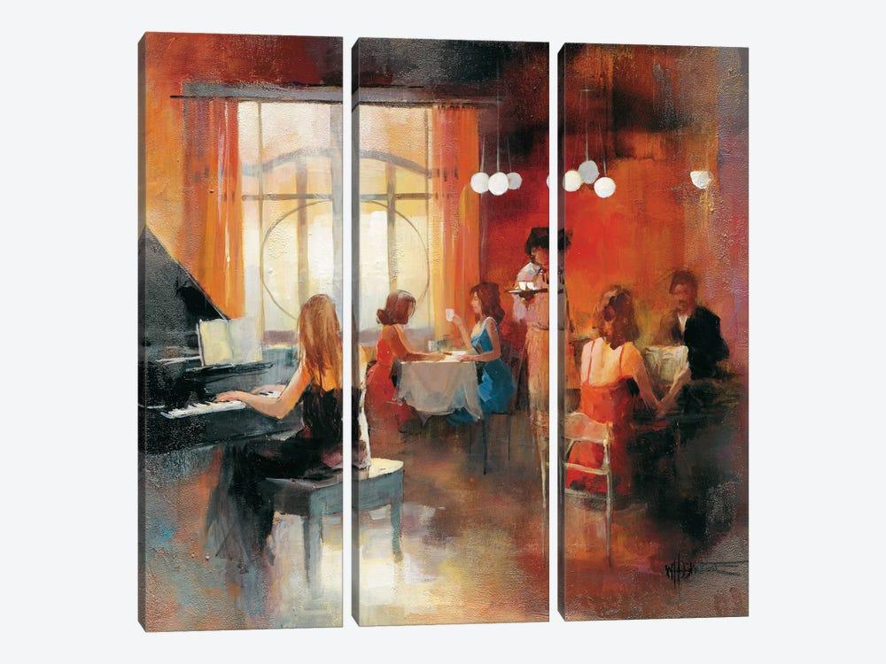 Rendez-Vous I by Willem Haenraets 3-piece Canvas Art