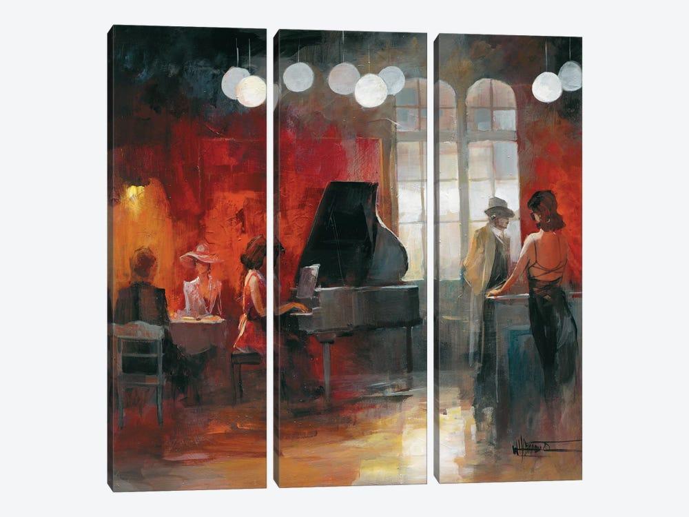 Rendez-Vous II by Willem Haenraets 3-piece Canvas Print