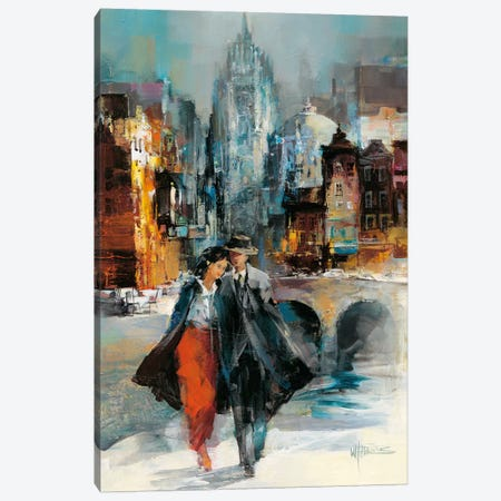 Romance I Canvas Print #HAE57} by Willem Haenraets Canvas Artwork