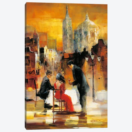 Romance II Canvas Print #HAE58} by Willem Haenraets Art Print