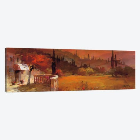 Romantic Tuscany I Canvas Print #HAE60} by Willem Haenraets Canvas Wall Art
