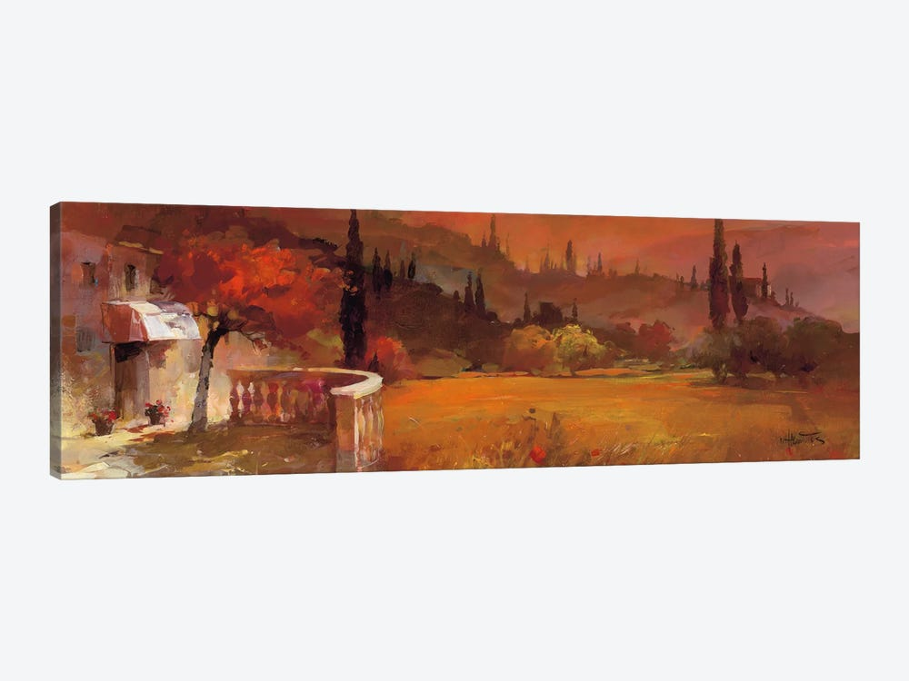 Romantic Tuscany I by Willem Haenraets 1-piece Canvas Artwork