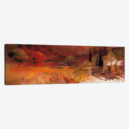 Romantic Tuscany II Canvas Print #HAE61} by Willem Haenraets Canvas Wall Art