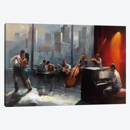Room With A View I Canvas Print #HAE62} by Willem Haenraets Canvas Artwork