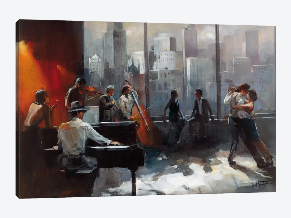 Room With A View II by Willem Haenraets 1-piece Art Print