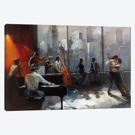 Room With A View II Canvas Print #HAE63} by Willem Haenraets Canvas Artwork