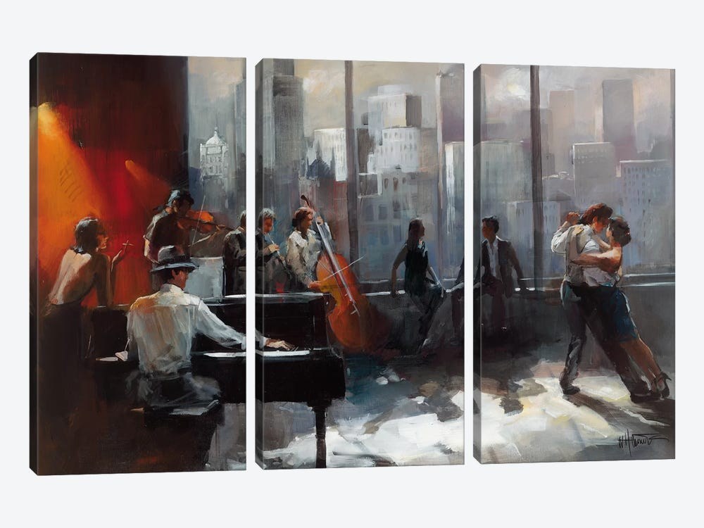 Room With A View II by Willem Haenraets 3-piece Art Print