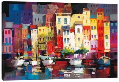Seaport Town I Canvas Art Print