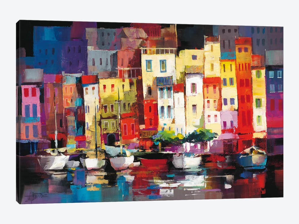 Seaport Town I by Willem Haenraets 1-piece Canvas Wall Art