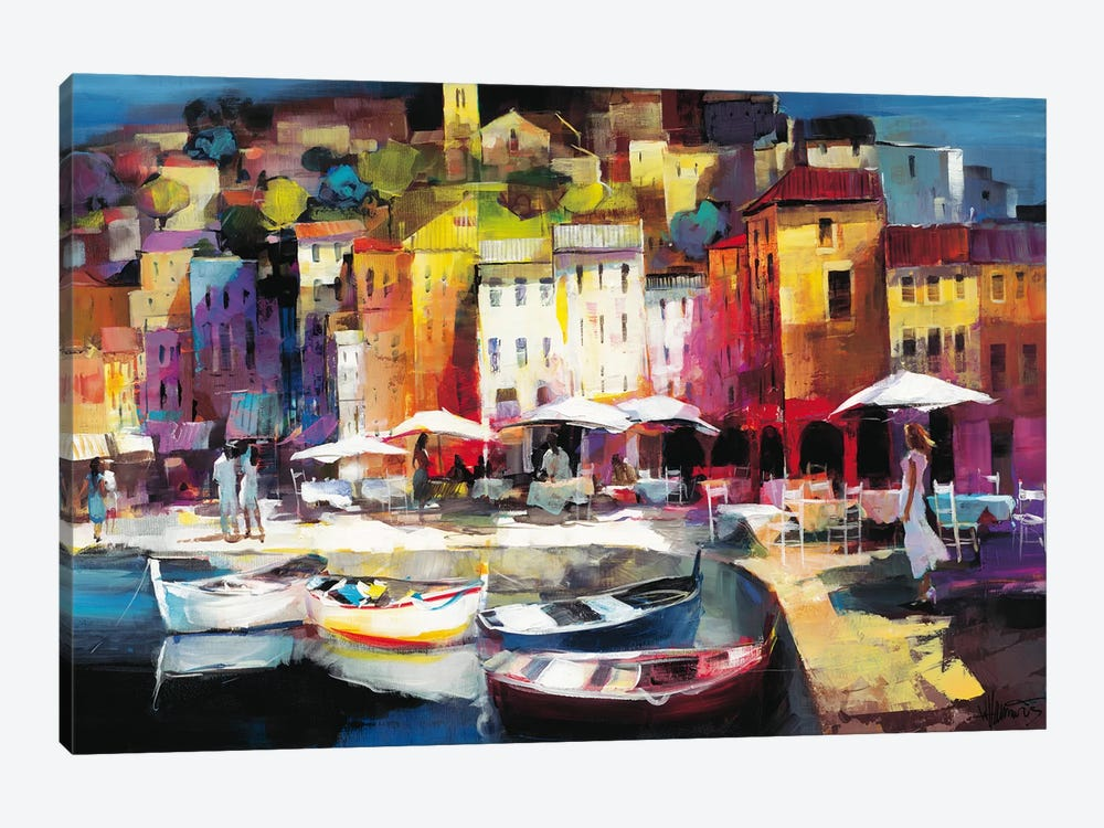 Seaport Town II by Willem Haenraets 1-piece Art Print