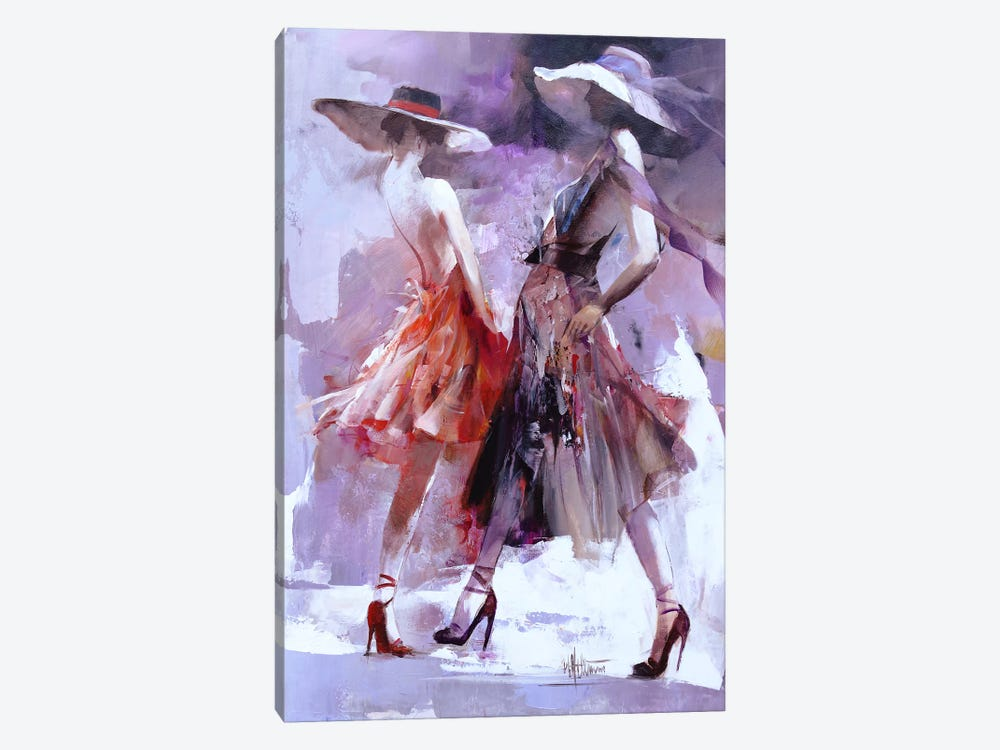Showing by Willem Haenraets 1-piece Canvas Art
