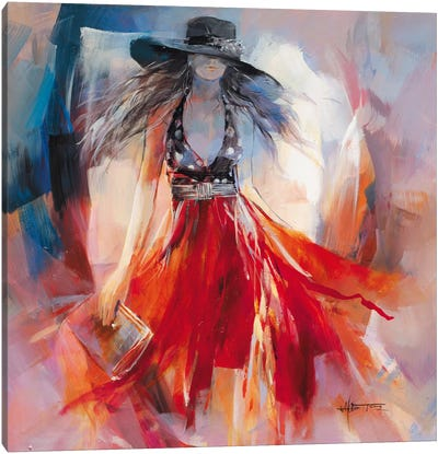 Summer Dress I Canvas Art Print