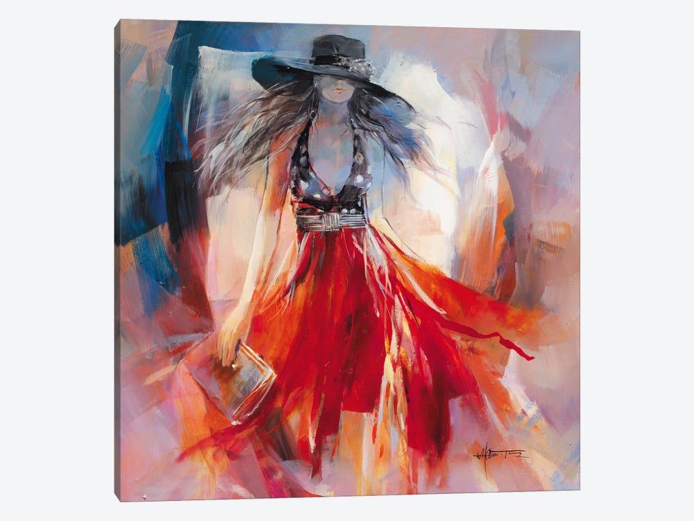 Summer Dress I by Willem Haenraets 1-piece Canvas Print