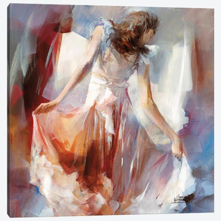 Summer Dress II Canvas Print #HAE68} by Willem Haenraets Canvas Art