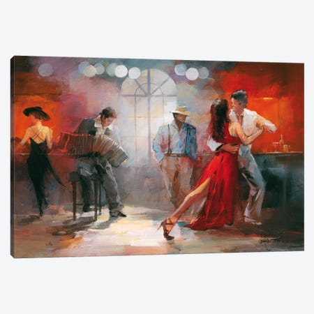 Tango Canvas Print #HAE69} by Willem Haenraets Canvas Artwork