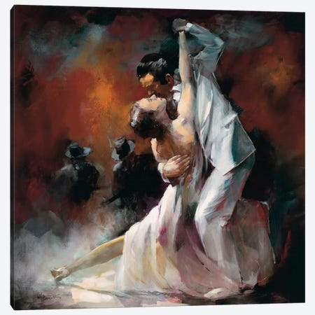 Tango Argentino I Canvas Print #HAE70} by Willem Haenraets Canvas Art Print