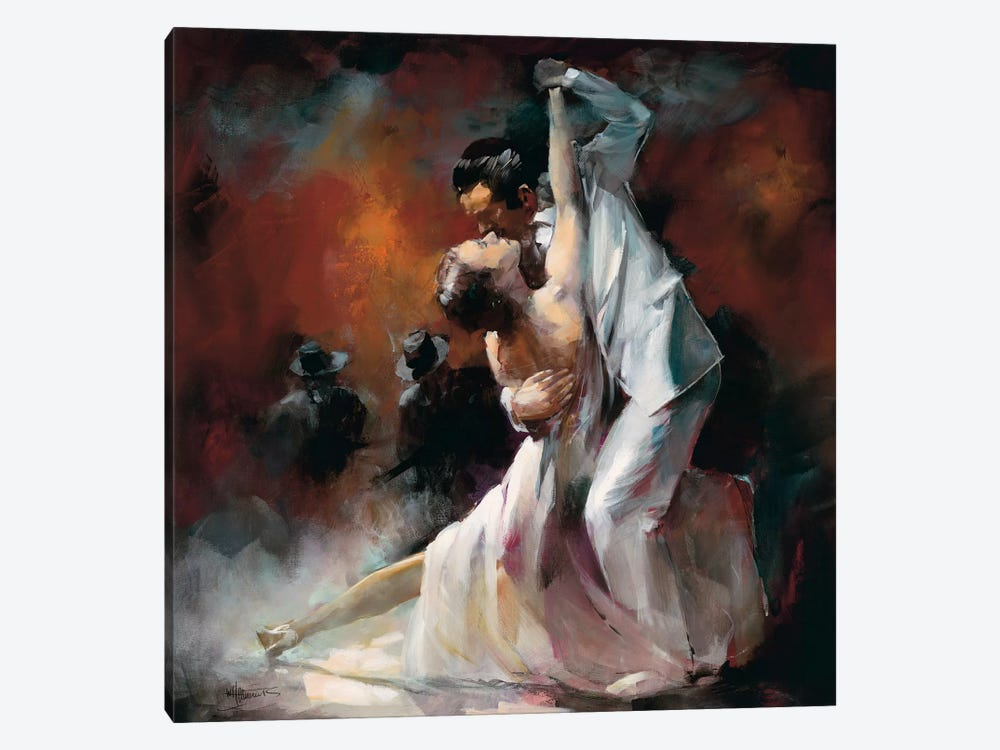 Tango Argentino I by Willem Haenraets 1-piece Canvas Print
