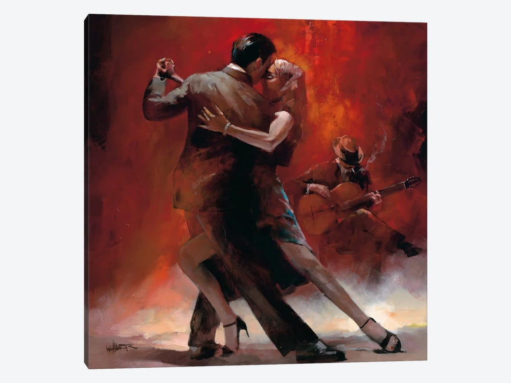 Tango Argentino II by Willem Haenraets 1-piece Canvas Art