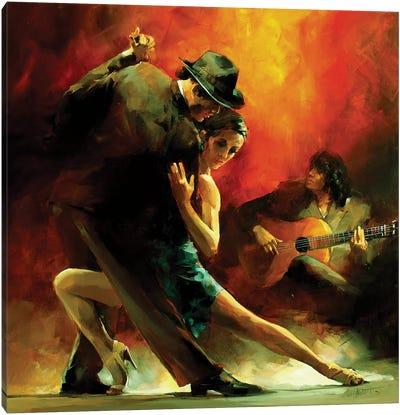 Tango Argentino III Canvas Art Print