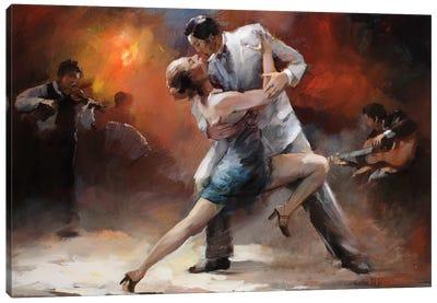 Tango Argentino IV Canvas Art Print