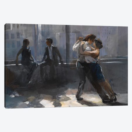 Tango Argentino V Canvas Print #HAE74} by Willem Haenraets Canvas Artwork