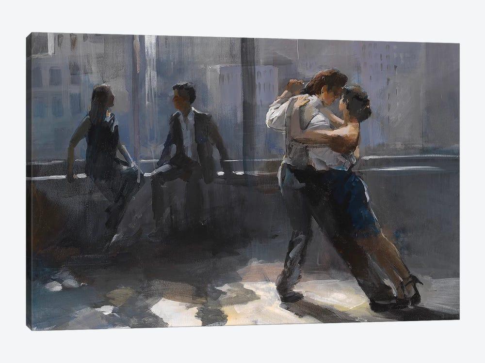 Tango Argentino V by Willem Haenraets 1-piece Canvas Art Print