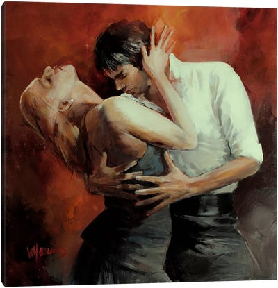 Tango Passion Canvas Art Print