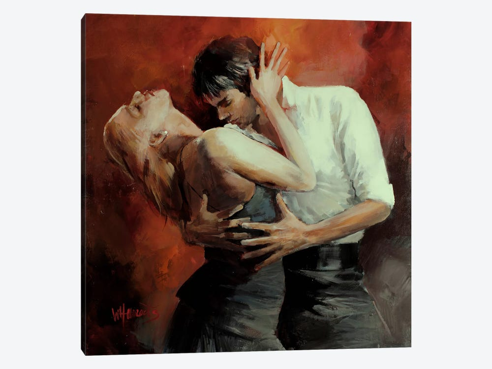 Tango Passion by Willem Haenraets 1-piece Canvas Artwork