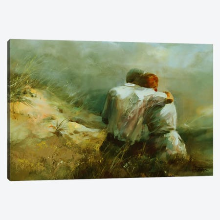 Together Canvas Print #HAE76} by Willem Haenraets Canvas Art