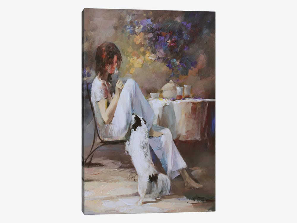 Waiting For… by Willem Haenraets 1-piece Canvas Art