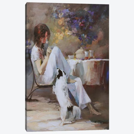 Waiting For… Canvas Print #HAE80} by Willem Haenraets Canvas Artwork