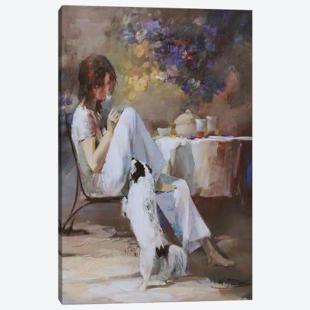 Waiting For… Canvas Print #HAE80} by Willem Haenraets Canvas Artwork