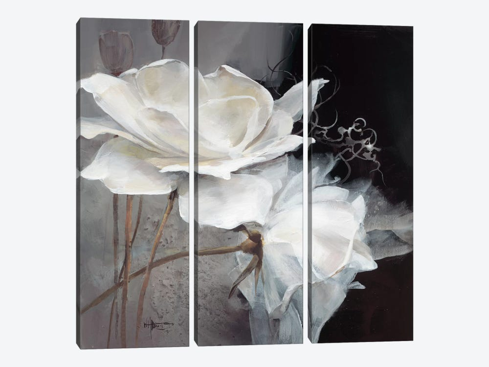 Wealth Of Flowers I by Willem Haenraets 3-piece Canvas Art Print