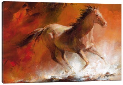 Wild Horses I Canvas Art Print