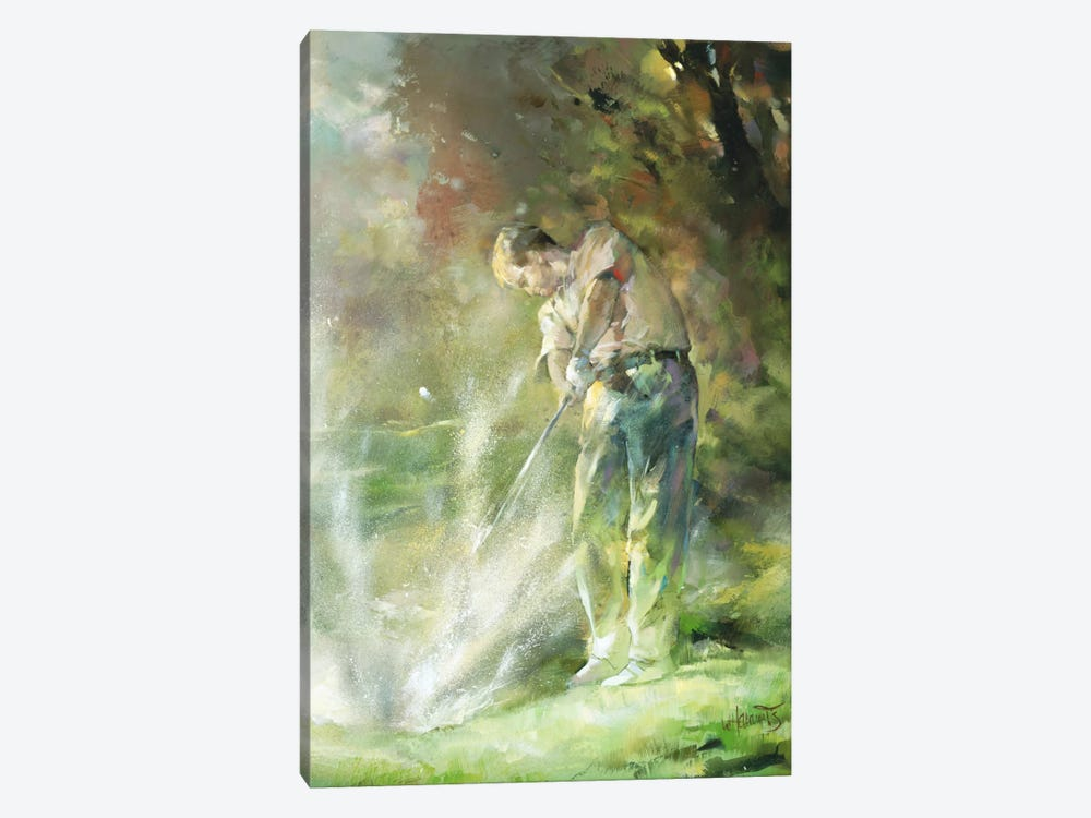 A Perfect Strike by Willem Haenraets 1-piece Canvas Art Print