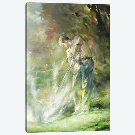A Perfect Strike Canvas Print #HAE89} by Willem Haenraets Canvas Art